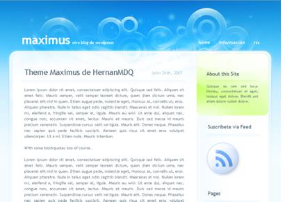 Maximus theme