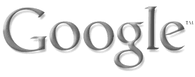 Make google logo black and white