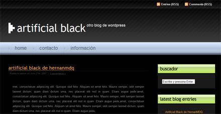 Artificial Black