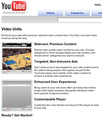 Adsense en Youtube