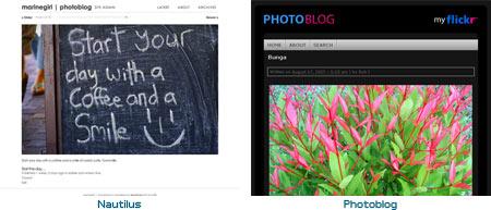 Fotolog Theme