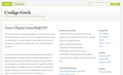 Newsflash WP