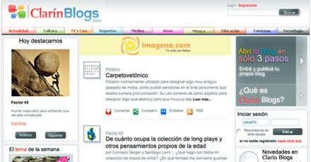 Blogs Clarin