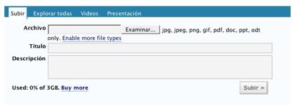 Wordpress.com da 3GB
