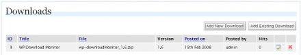Download Monitor ejemplo