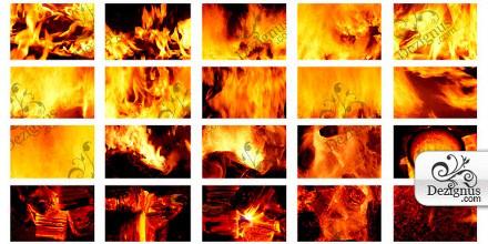 wallpaper fire