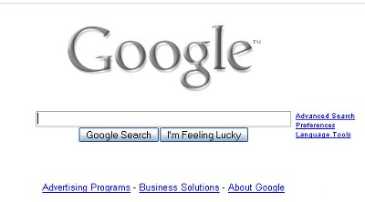 Google Blanco y negro
