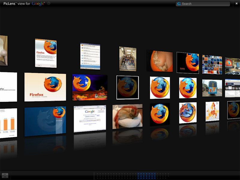 Firefox y PicLens