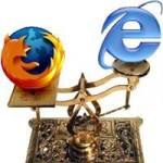 Firefox le gana a Explorer