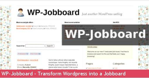 Transforma Wordpress en una bolsa de Trabajo   Codigo Geek