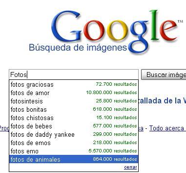 google image suggest
