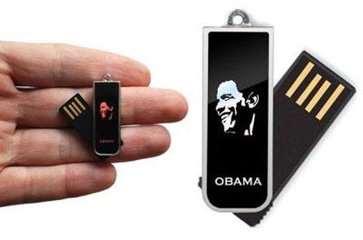 La memoria Flash USB de Obama
