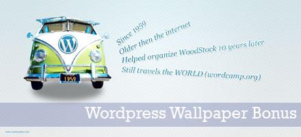 Wordpress Wallpaper Bonus