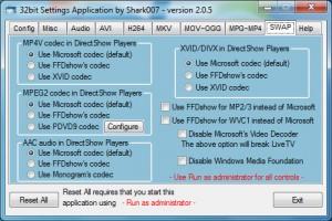 codecs-w7-setup