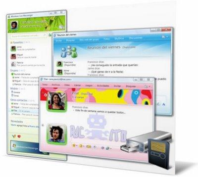 Messenger-portable