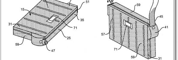 Demanda cubierta del ipad por patentes