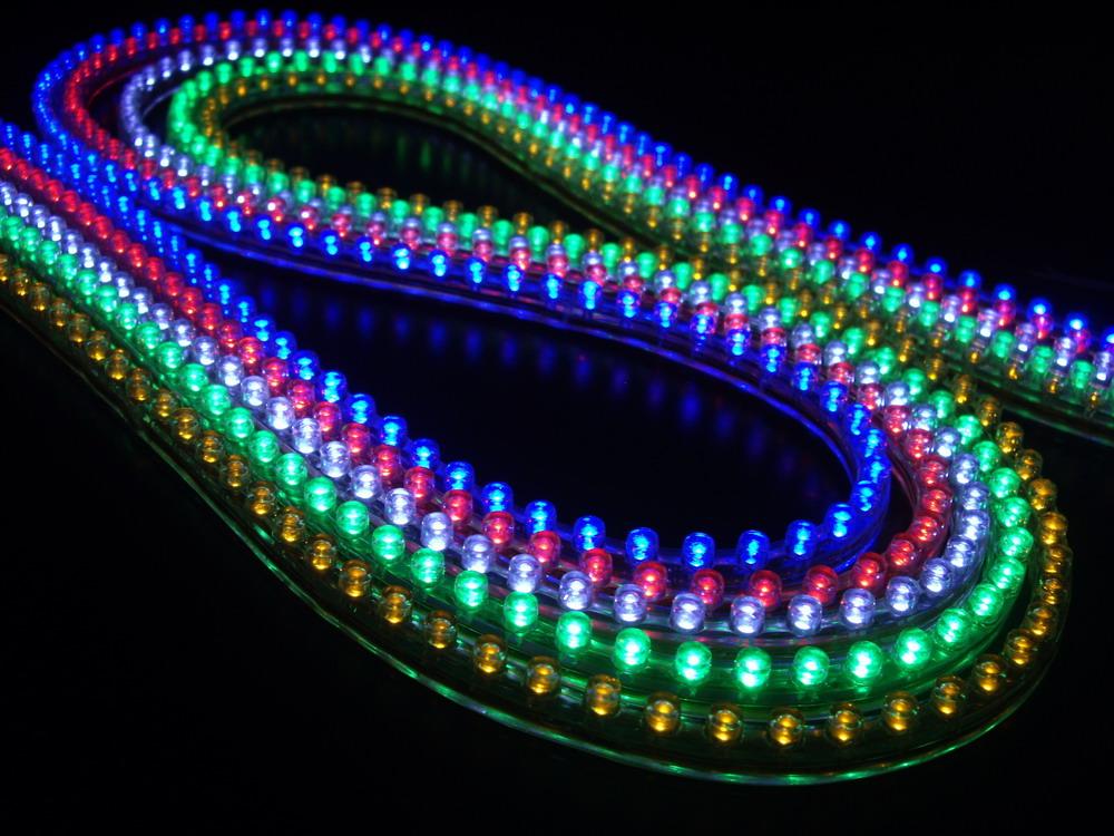 El led cumple 50 a os y su inventor cuenta la historia codigo geek - Focos led con luces de colores ...