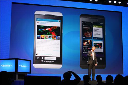 BlackBerry10 presentacion