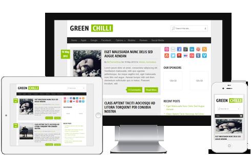 GreenChilli-WordPerss-Theme