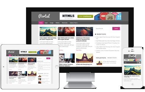 Portal-WordPress-Theme