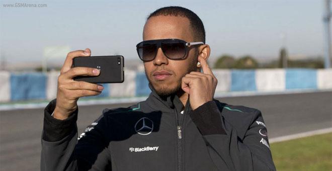Blackberry Lewis Hamilton