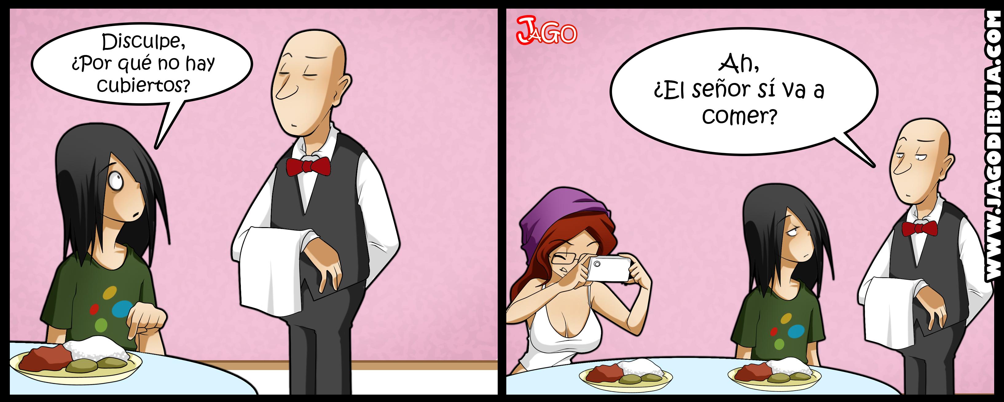 comida humor geek