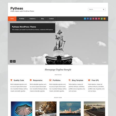 pytheas-free-wordpress-theme