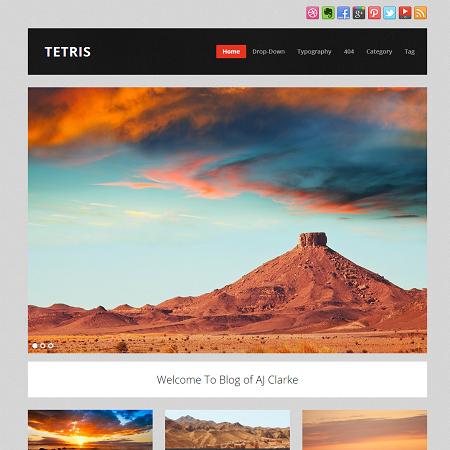 tetris-free-wordpress-theme