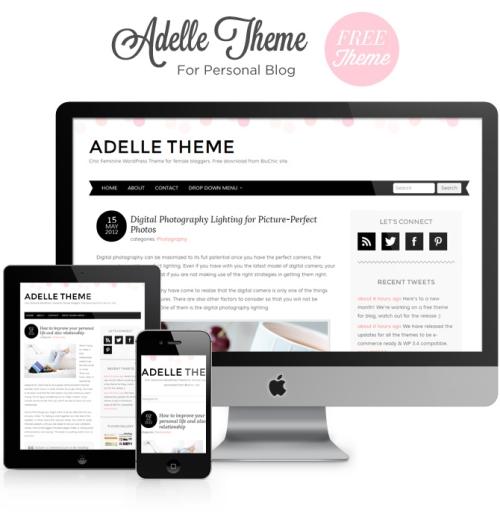 wordpress_free_adelle