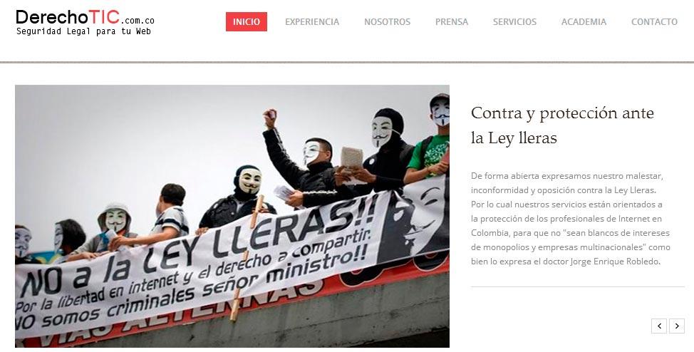 DerechoTIC en Colombia