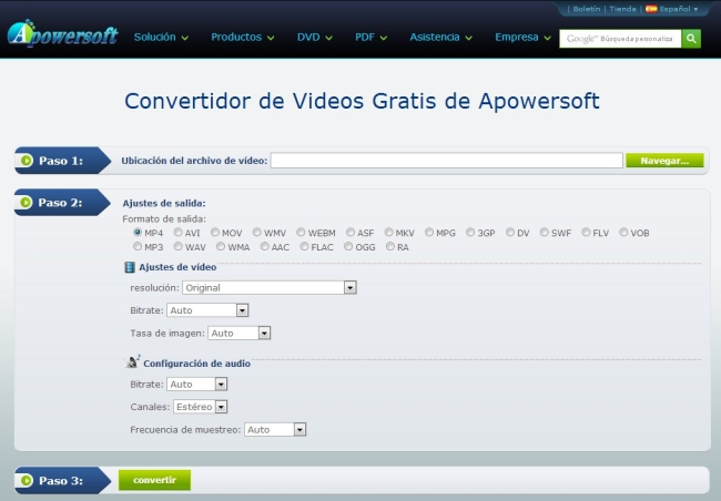 Apowersoft-convertidor-online-video