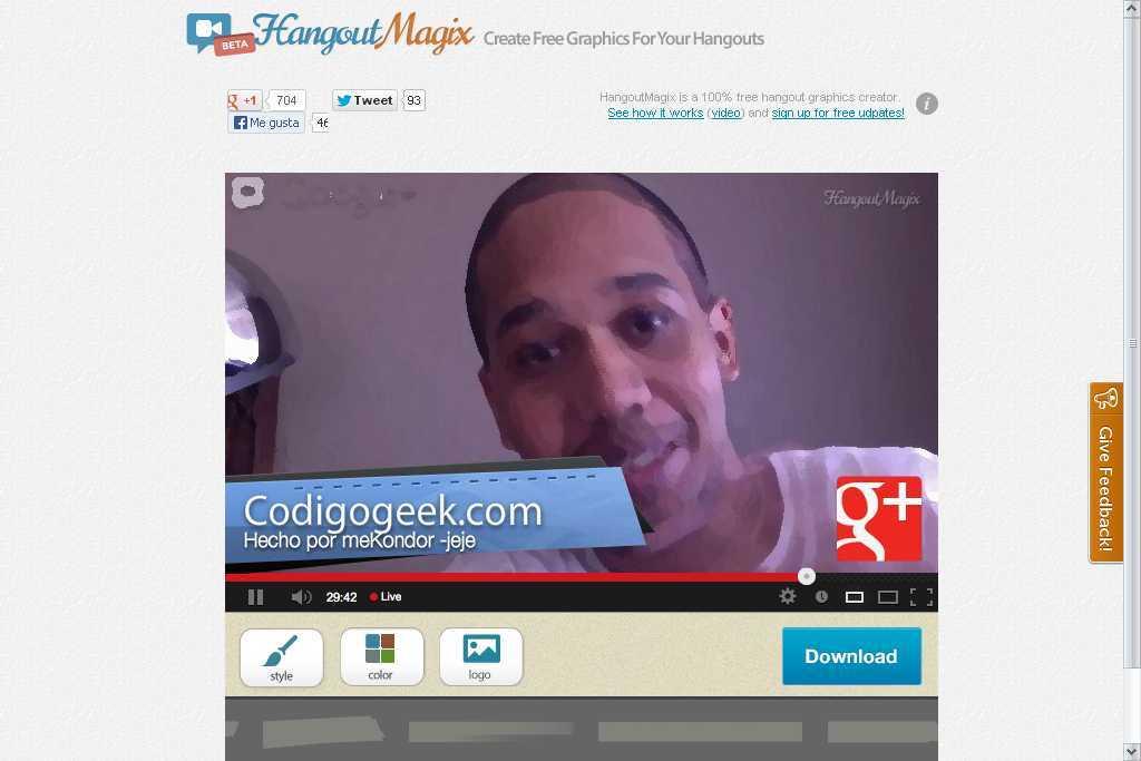 HangoutMagix codigo