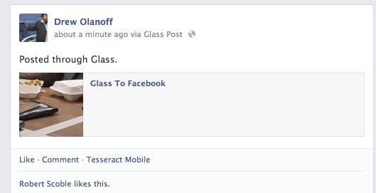 glass for facebook