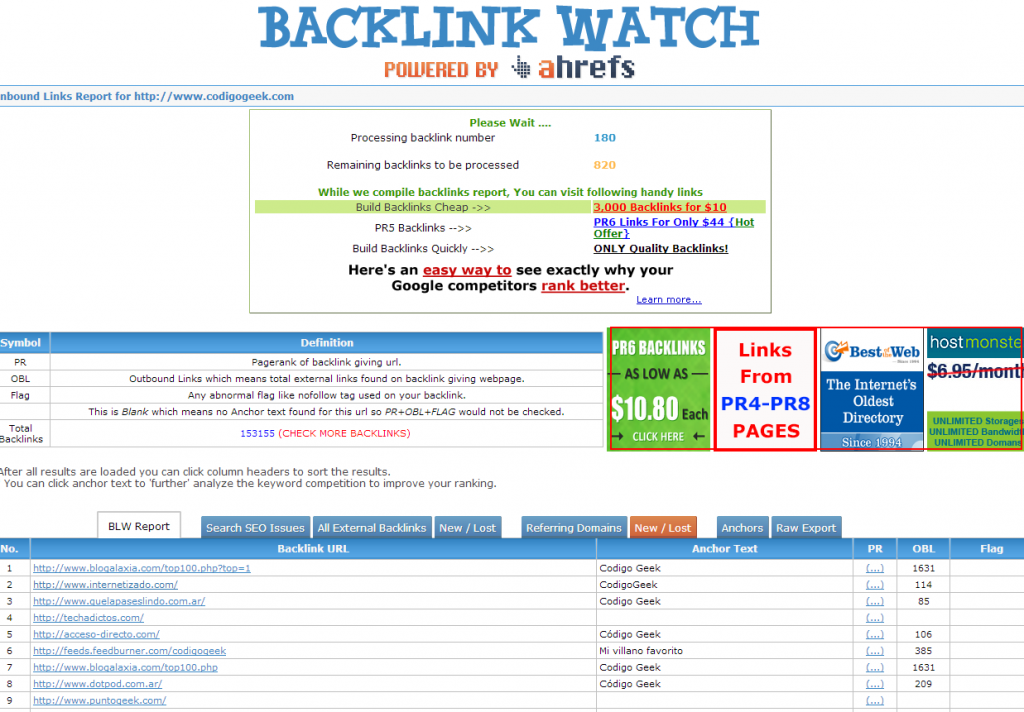 codigo backlink