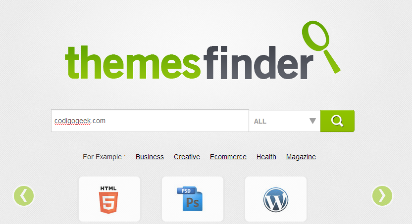 temes finder codigo