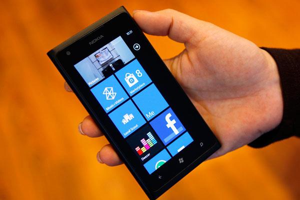 Nokia lumia con android