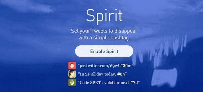spirit codigo