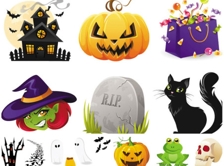 iconos halloween
