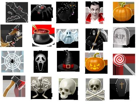 iconos halloween 5