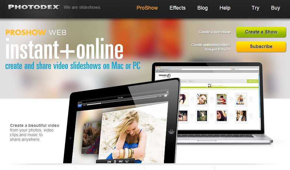 proshowweb codigo