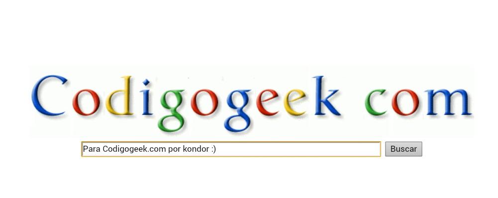 Funny Search, un buscador con tu nombre y al estilo Google