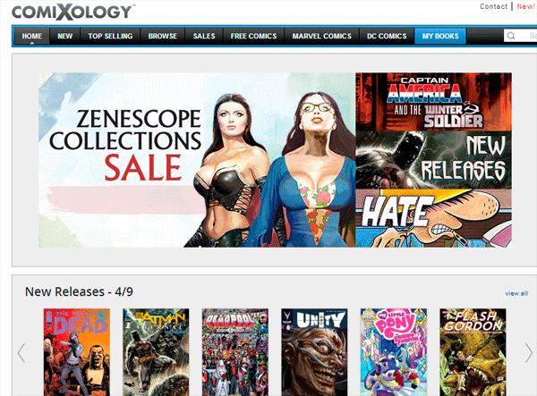 Amazon Comixology