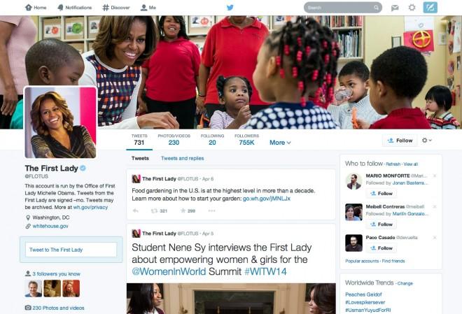 Twitter diseño 2014