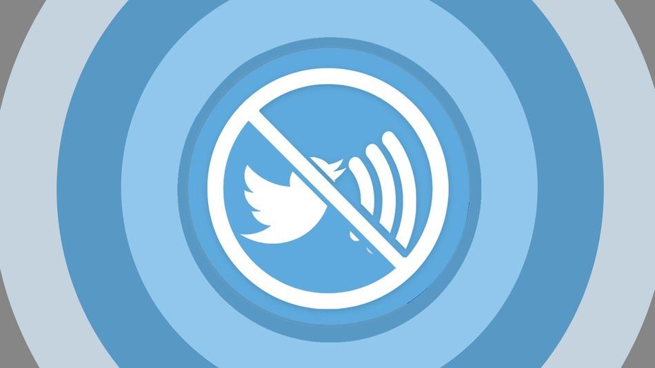 Twitter silencio