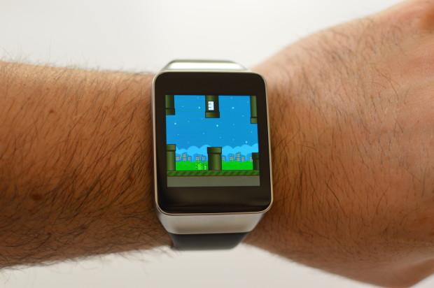 Flappy Bird para tu reloj