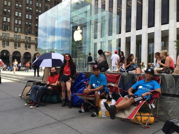 filas para el iPhone 6