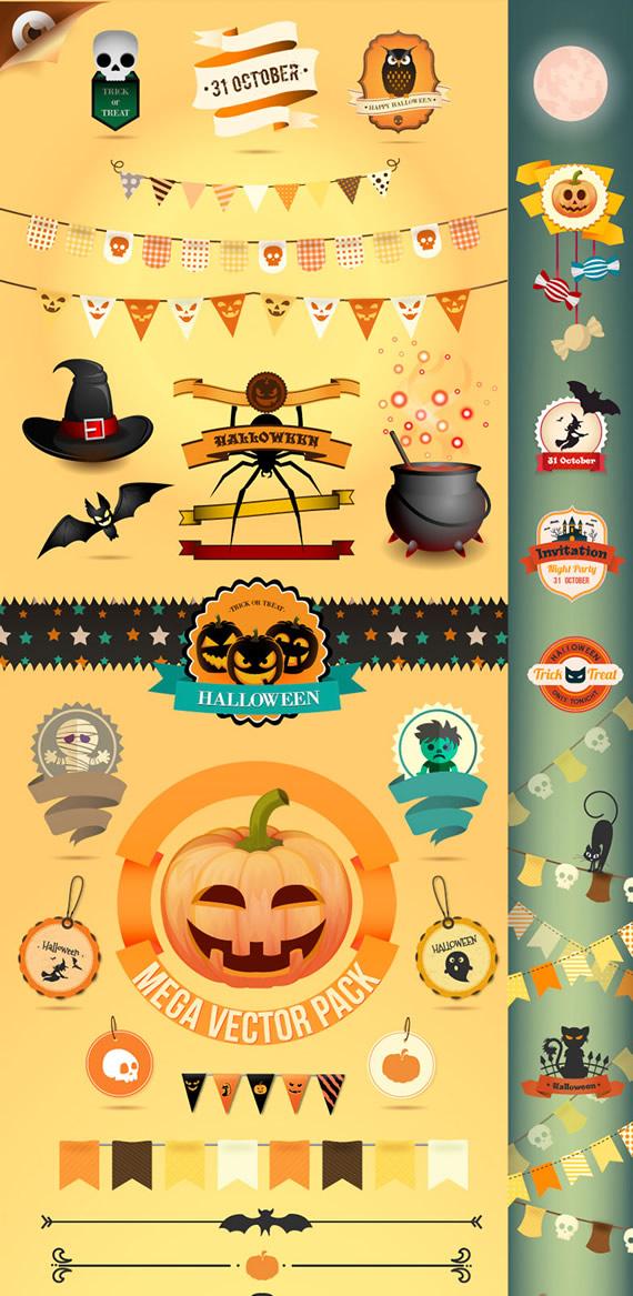 halloween-pack-vectores