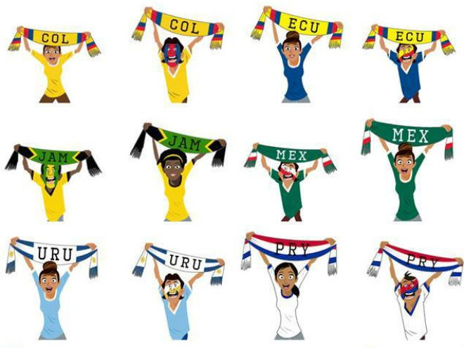 Stickers-copa-america-facebook