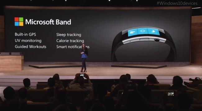 presentacion Microsoft Band