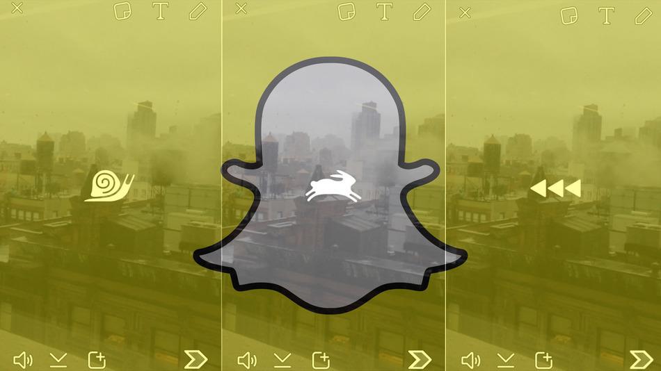 Snapchat-filtros